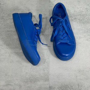 Kenneth Cole Reaction Bright Blue Leather Joey Low
